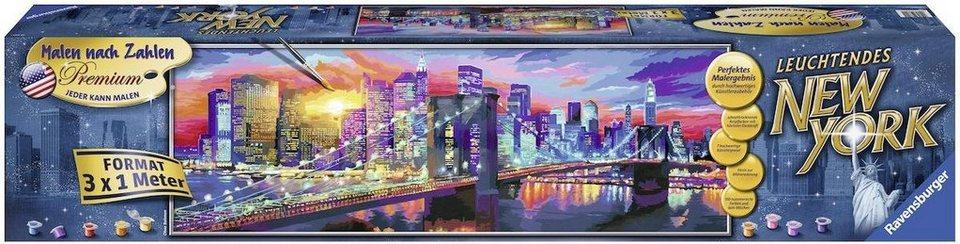Ravensburger Malen Nach Zahlen Leuchtendes New York Online Kaufen Otto