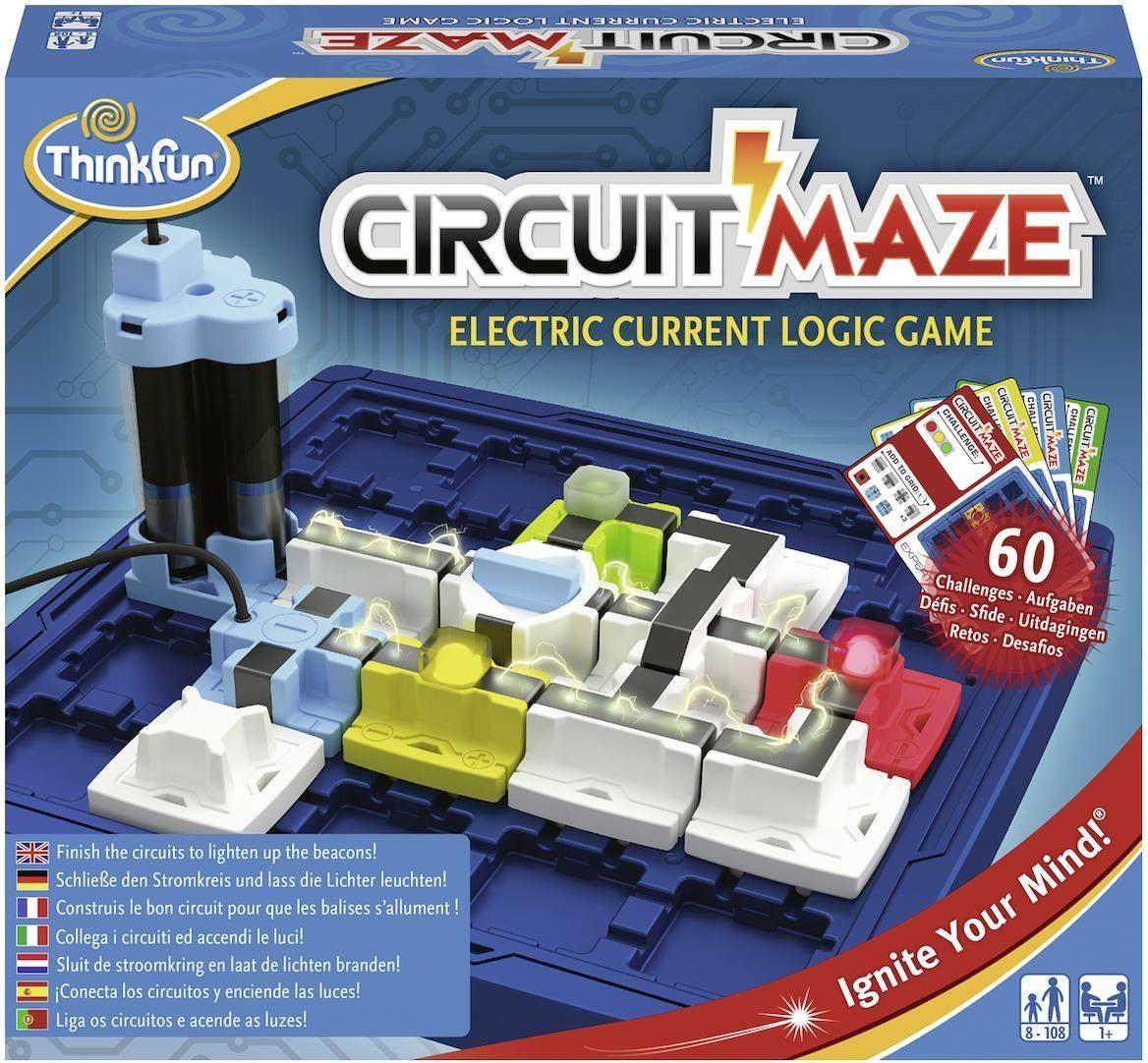 Thinkfun® Denkspiel, »Circuit Maze™«