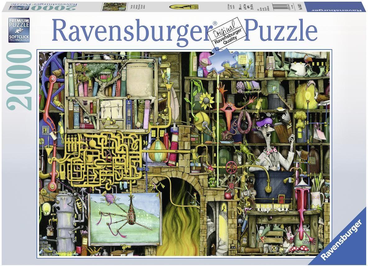 Ravensburger Puzzle, 2000 Teile, »Verrücktes Labor«