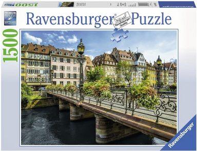 Ravensburger Puzzle, 1500 Teile, »Sommerliches Straßburg«