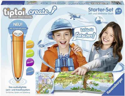 Ravensburger Spiel, »tiptoi® Starter-Set: Die verrückte Weltreise«, mit CREATE Stift; Made in Europe, FSC® - schützt Wald - weltweit