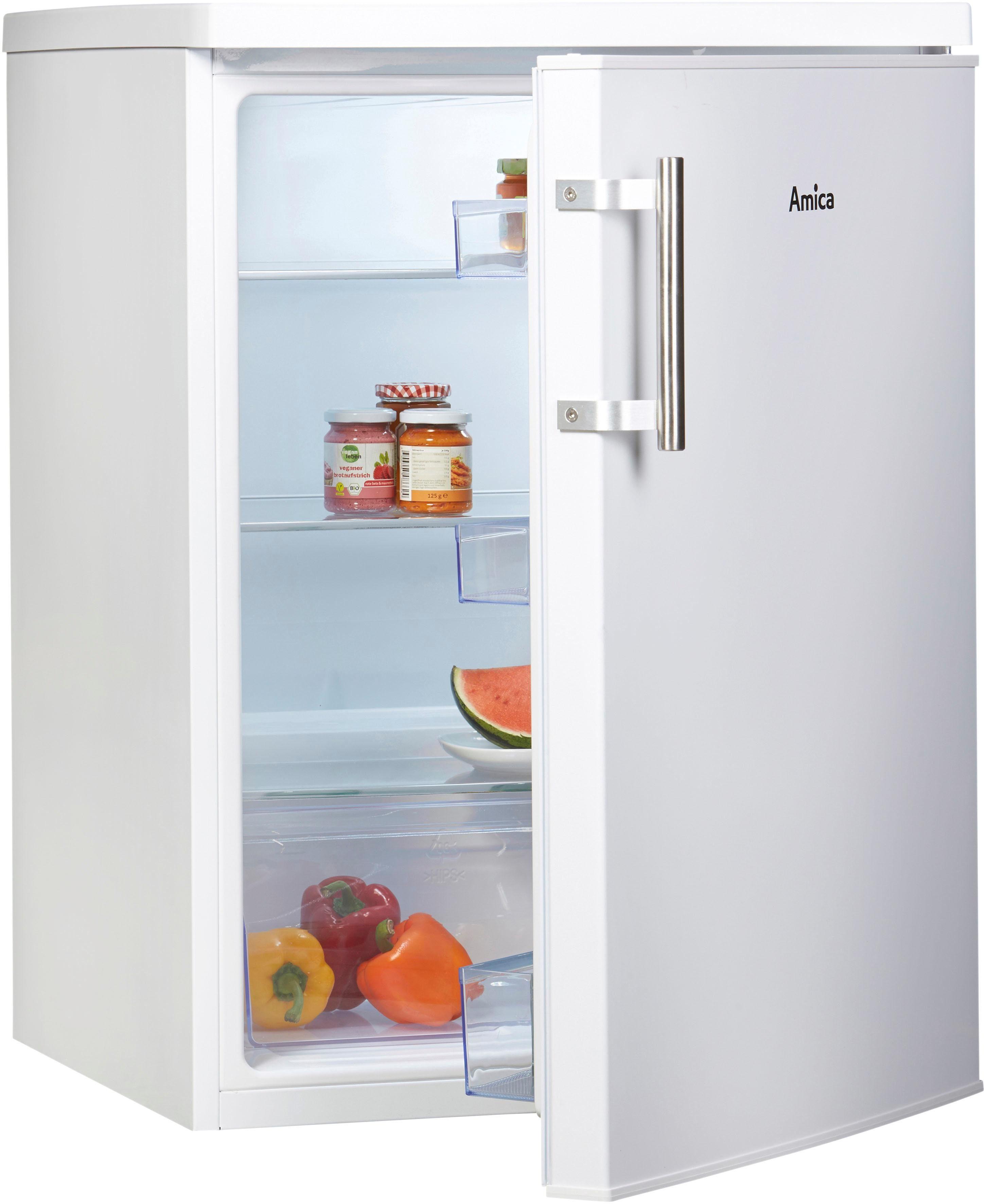 Amica Kühlschrank VKS 15917W, 85 cm hoch, 60 cm breit