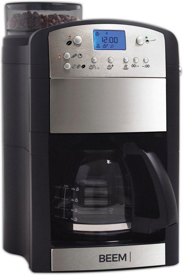 beem kaffeemaschine mit mahlwerk fresh aroma perfect thermostar 1 25l kaffeekanne. Black Bedroom Furniture Sets. Home Design Ideas