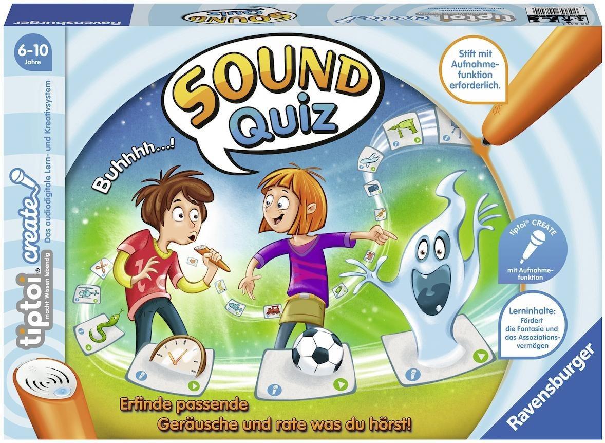 Ravensburger Spiel tiptoi® CREATE, »Sound-Quiz«