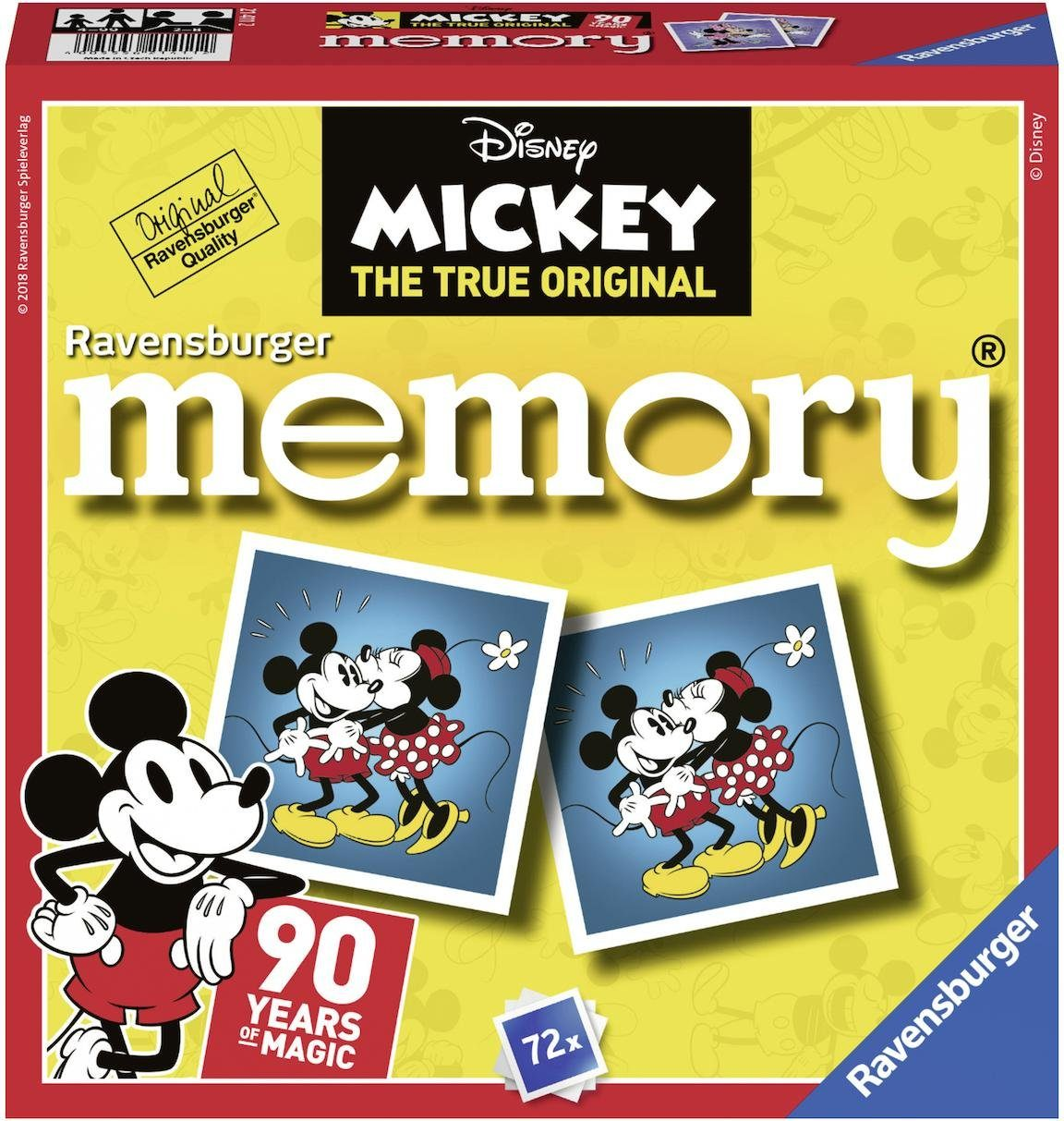 Ravensburger Spiel, »Disney Mickey Mouse memory®«