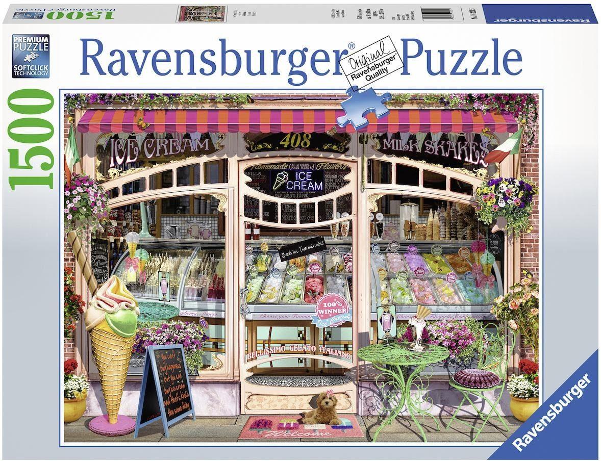 Ravensburger Puzzle »Ice Cream Shop«, 1500 Teilig, Softclick Technology.