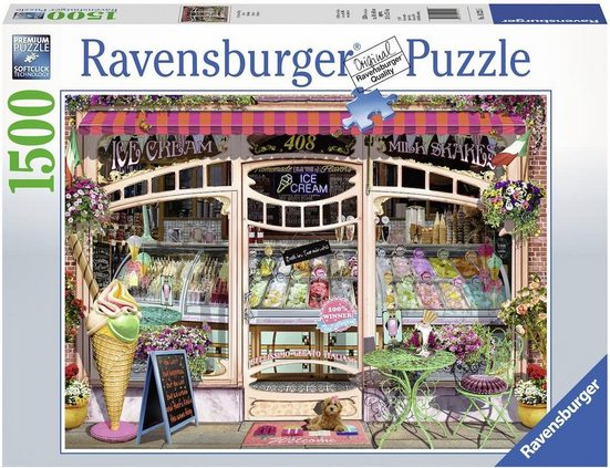 Ravensburger Puzzle »Ice Cream Shop«, 1500 Puzzleteile, Made in Germany