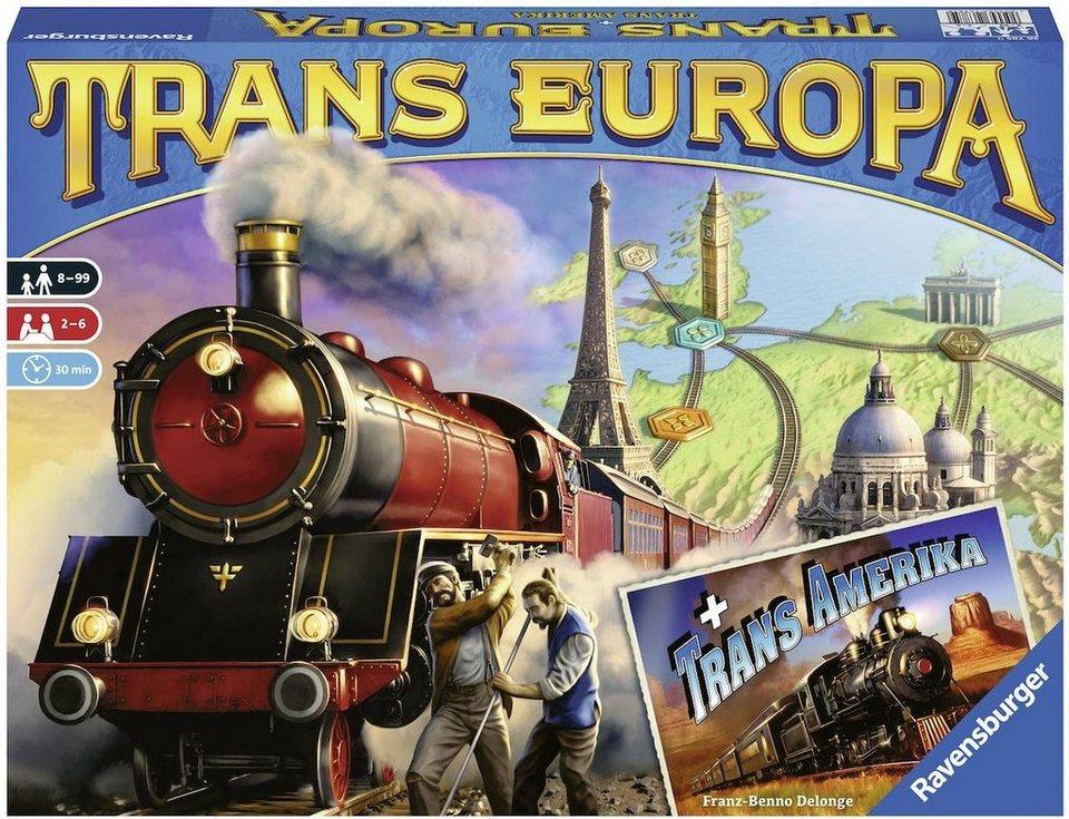 Ravensburger Brettspiel,  TransEuropa  kaufen