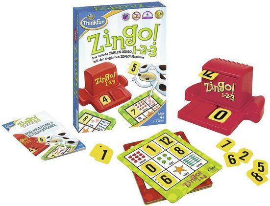 Thinkfun® Spiel, »Zingo® 1-2-3«