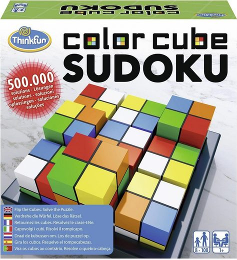 Thinkfun® Spiel, »Color Cube Sudoku«