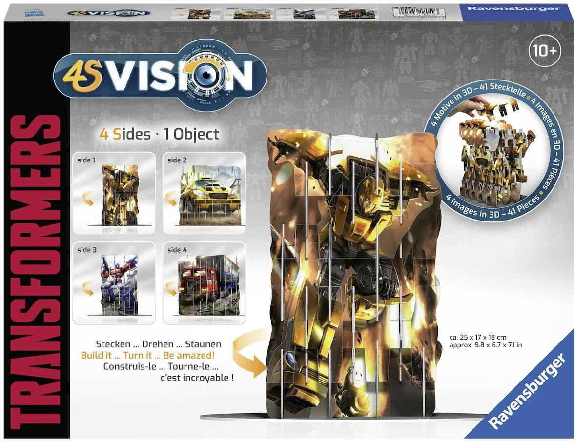 Ravensburger 3D Steckspiel, »4S Vision Transformers«