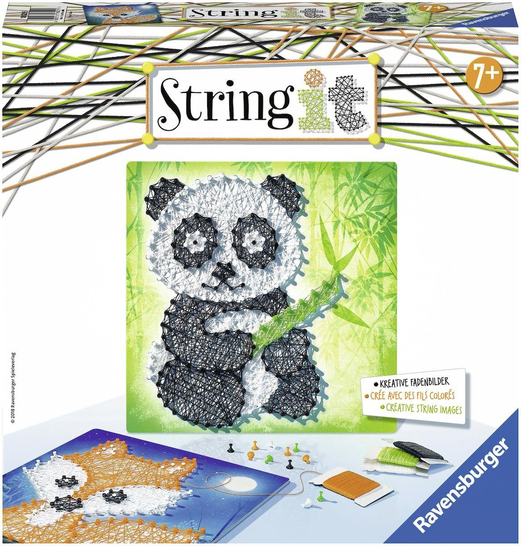 Ravensburger Kreativset Fadenbilder, »String it Midi Panda & Fox«