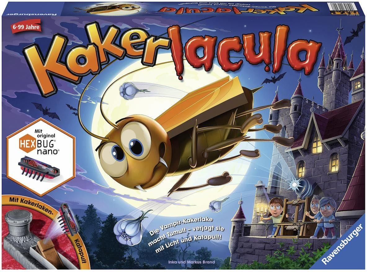 Ravensburger Kinder-Spiel mit elektronischer Kakerlake, »Kakerlacula«