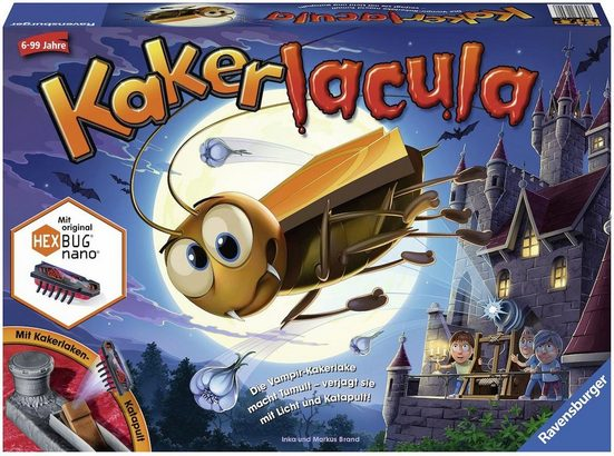 Ravensburger Spiel, »Kakerlacula«, mit elektronischer Kakerlake; Made in Europe, FSC® - schützt Wald - weltweit