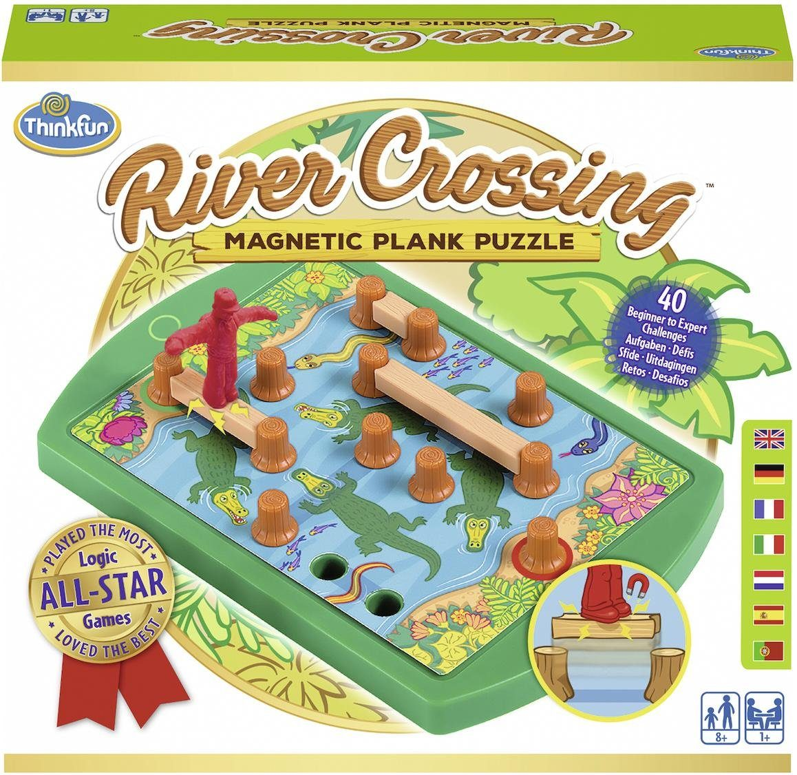 Thinkfun® Denkspiel, »River Crossing®«