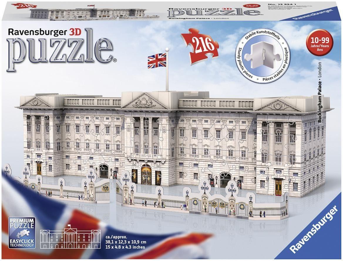 Puzzles & Geduldspiele 3D Puzzle Großes Disney Schloss Ravensburger