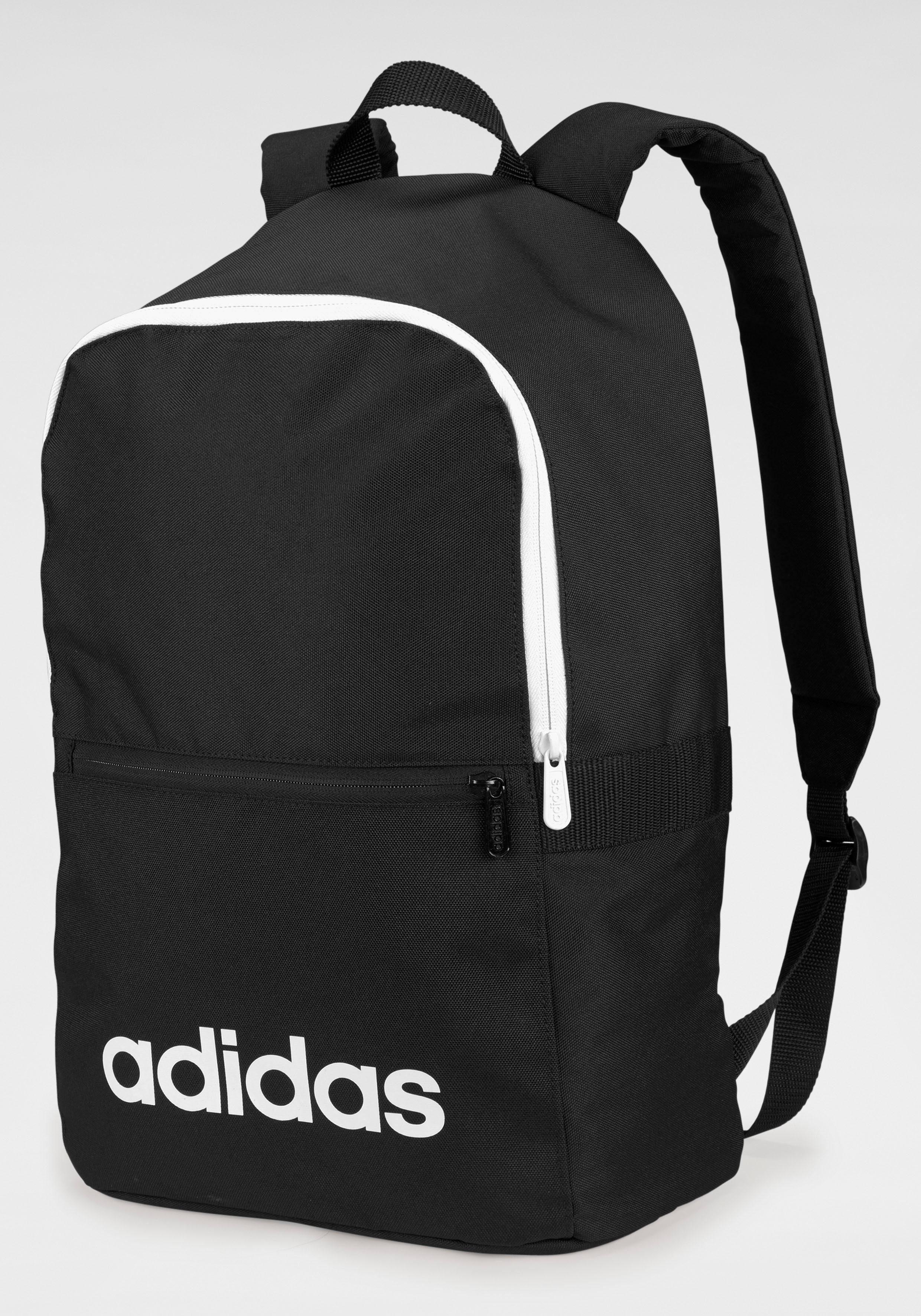 Unisex adidas Sportrucksack »LINEAR CLAS BAGPACK DAY« rosa, rot, schwarz   04059812124301