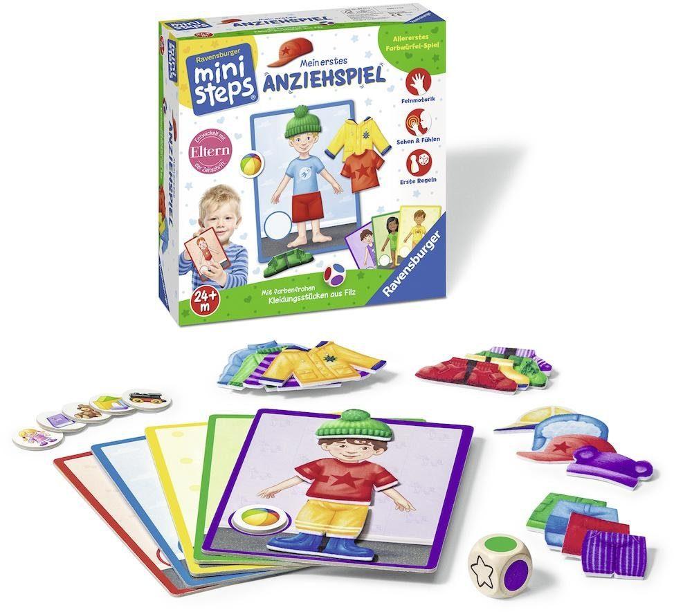 Ravensburger Farbwürfel-Spiel, »ministeps® Mein erstes Anziehspiel«