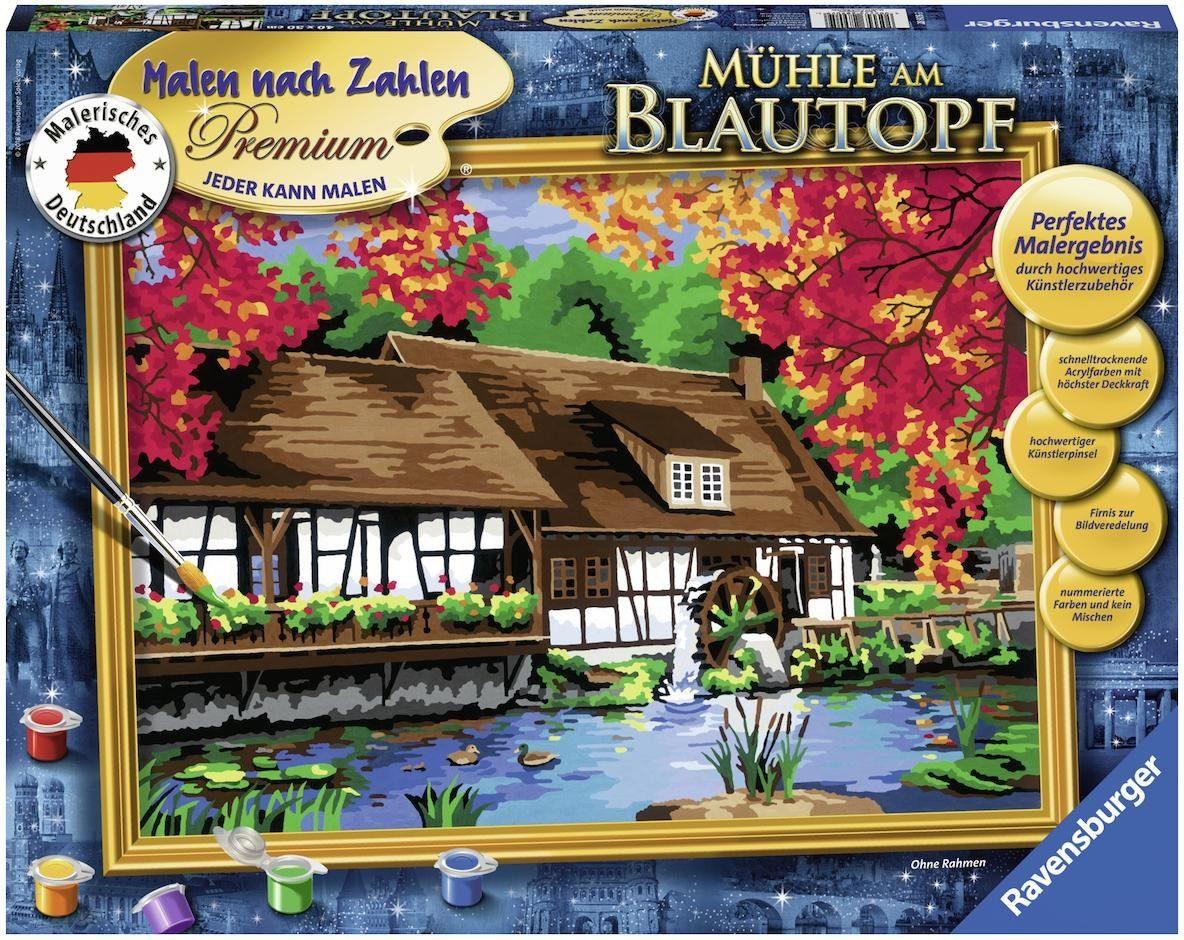 Ravensburger Malen nach Zahlen, »Mühle am Blautopf«