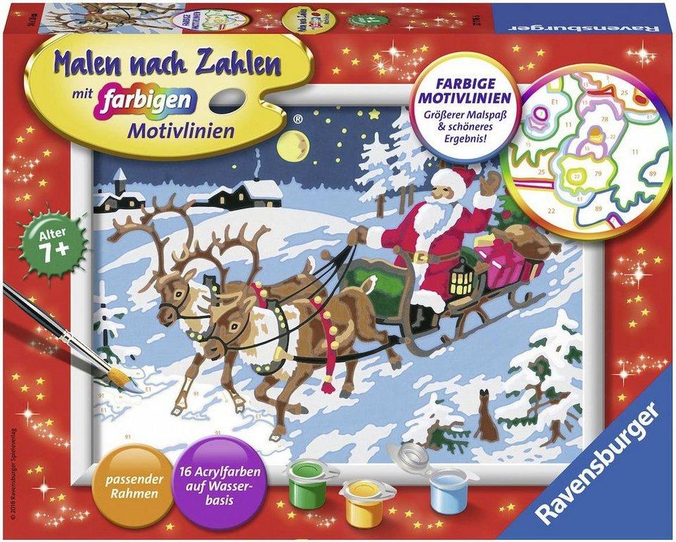 Ravensburger Malen nach Zahlen, »Frohe Weihnachten« online kaufen | OTTO