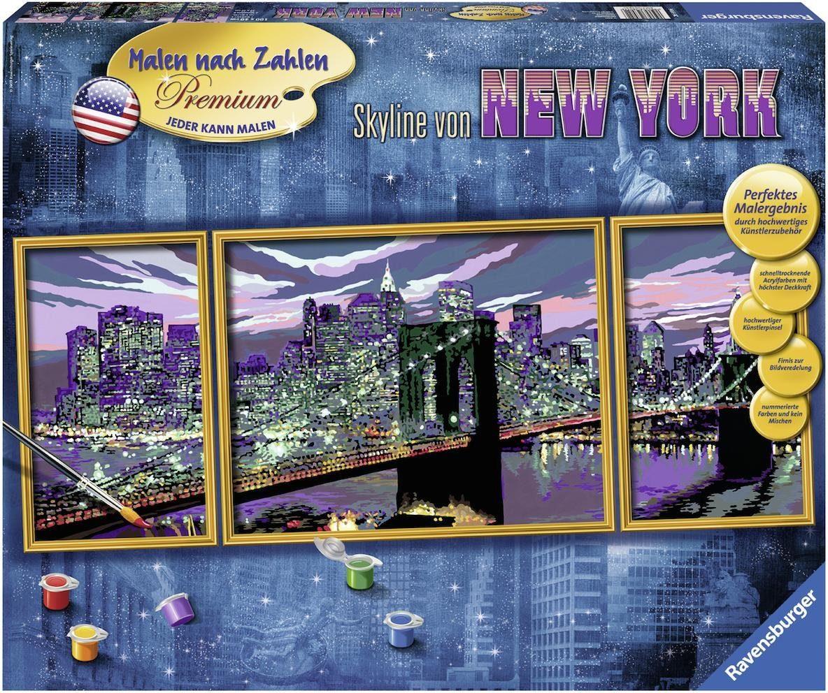 Ravensburger Malen nach Zahlen, »Skyline von New York«
