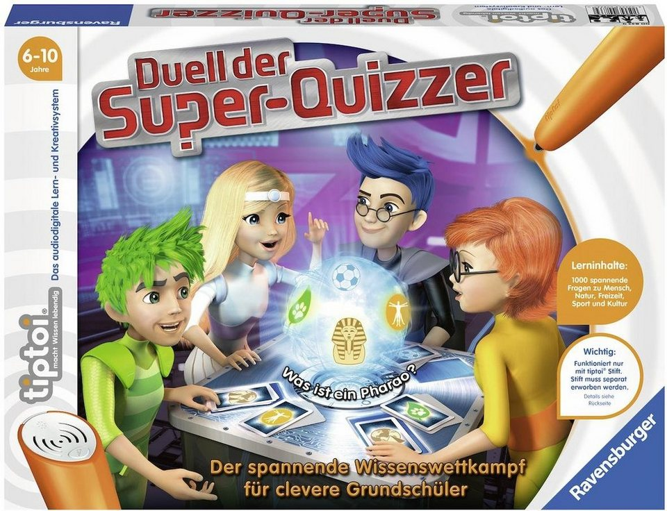 Ravensburger Buch tiptoi® ,  Duell der Super-Quizzer  online kaufen