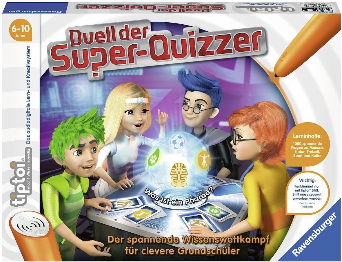 Ravensburger Buch tiptoi® , »Duell der Super-Quizzer«