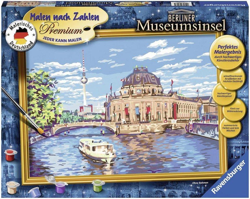 Ravensburger Malen Nach Zahlen Berliner Museumsinsel Online Kaufen Otto
