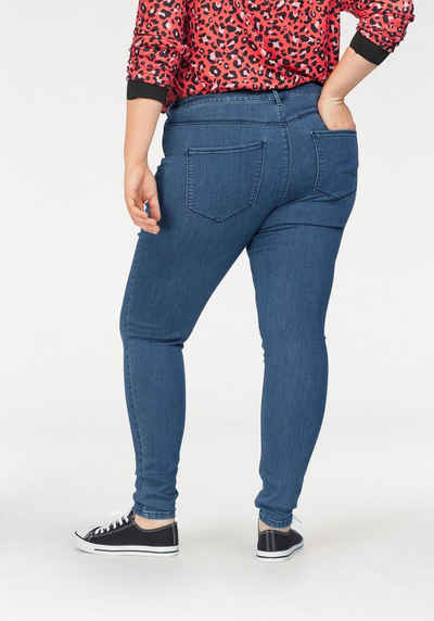 ONLY CARMAKOMA Jeansjeggings »Thunder« Mid Waist