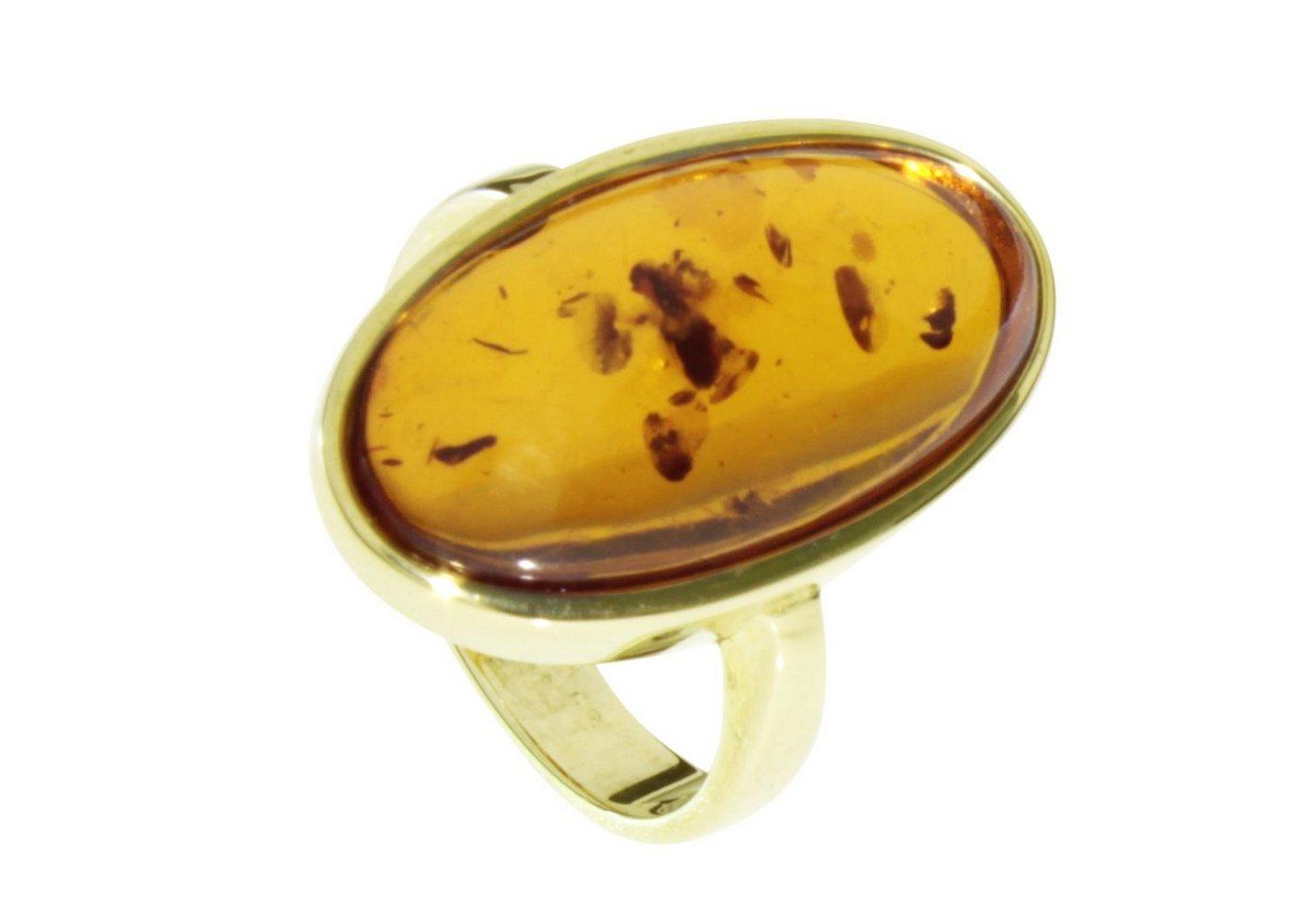 OSTSEE-SCHMUCK Fingerring »Wibke Gold 333/000 Bernstein« | Schmuck > Ringe > Fingerringe | Goldfarben | OSTSEE-SCHMUCK