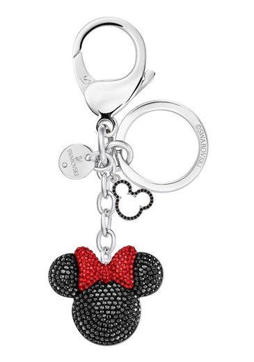 Swarovski Schlüsselanhänger »Minnie Handtaschen-Charm, 5435479« mit Swarovski® Kristallen