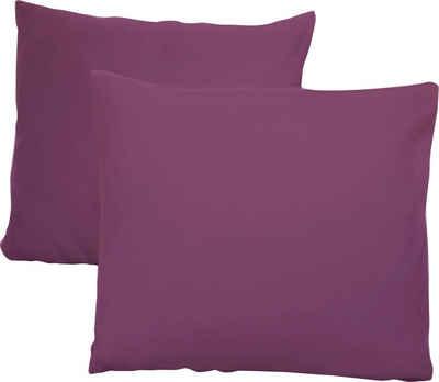 Kissenbezug »Jersey«, Schlafgut (2 Stück), mit Aloe Vera Ausrüstung