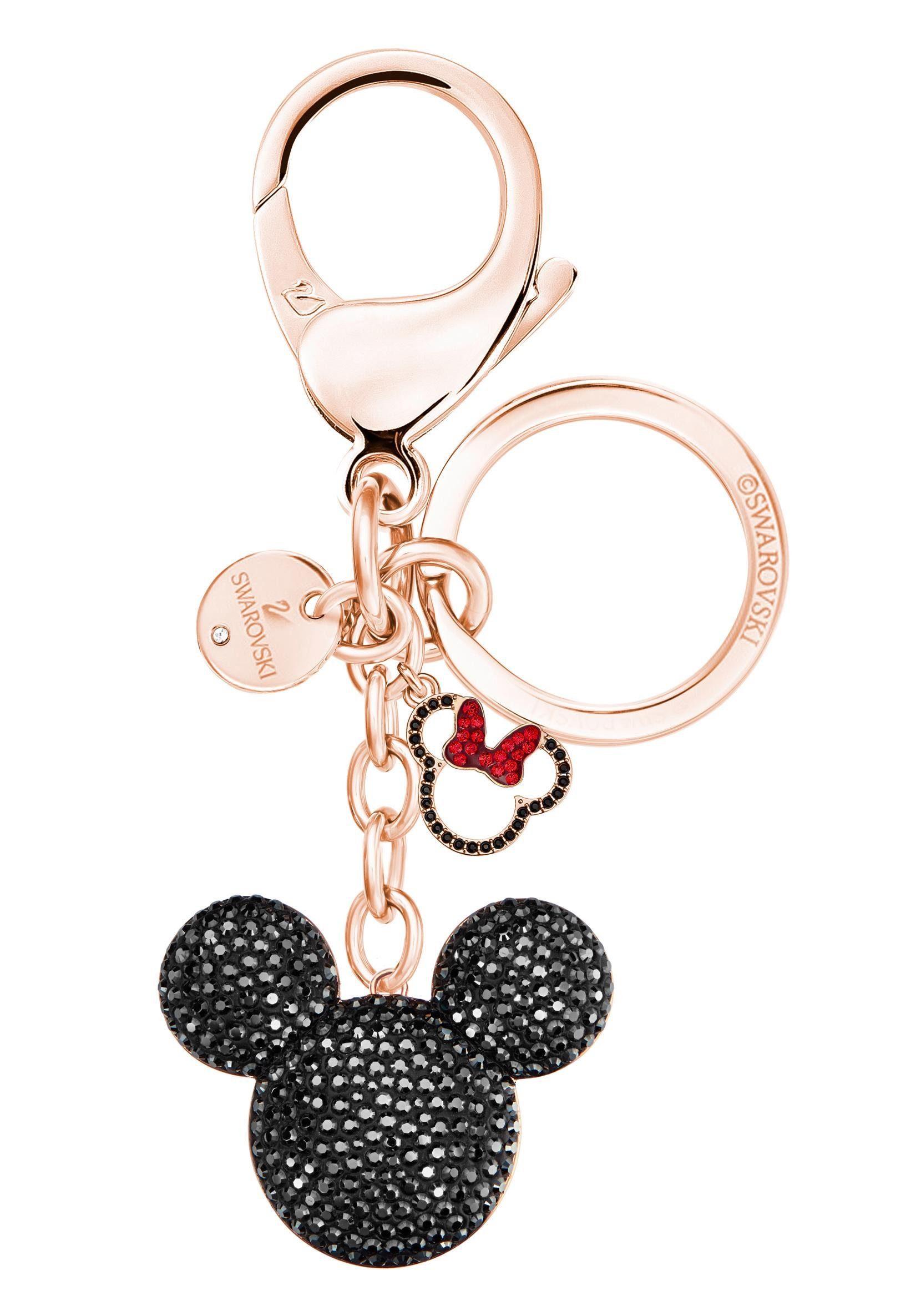 Swarovski Schlüsselanhänger »Mickey Handtaschen-Charm, 5435473« mit Swarovski® Kristallen