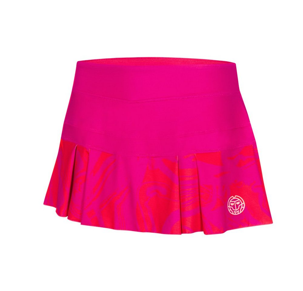BIDI BADU Tennis-Rock mit integrierter Shorts | Sportbekleidung > Sportröcke > Tennisröcke | Rot | Elasthan | BIDI BADU