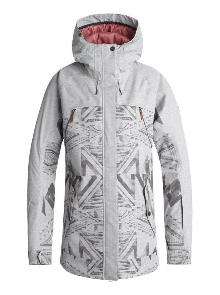 Roxy Snowboardjacke »Tribe« | Sportbekleidung > Sportjacken > Snowboardjacken | Grau | Roxy