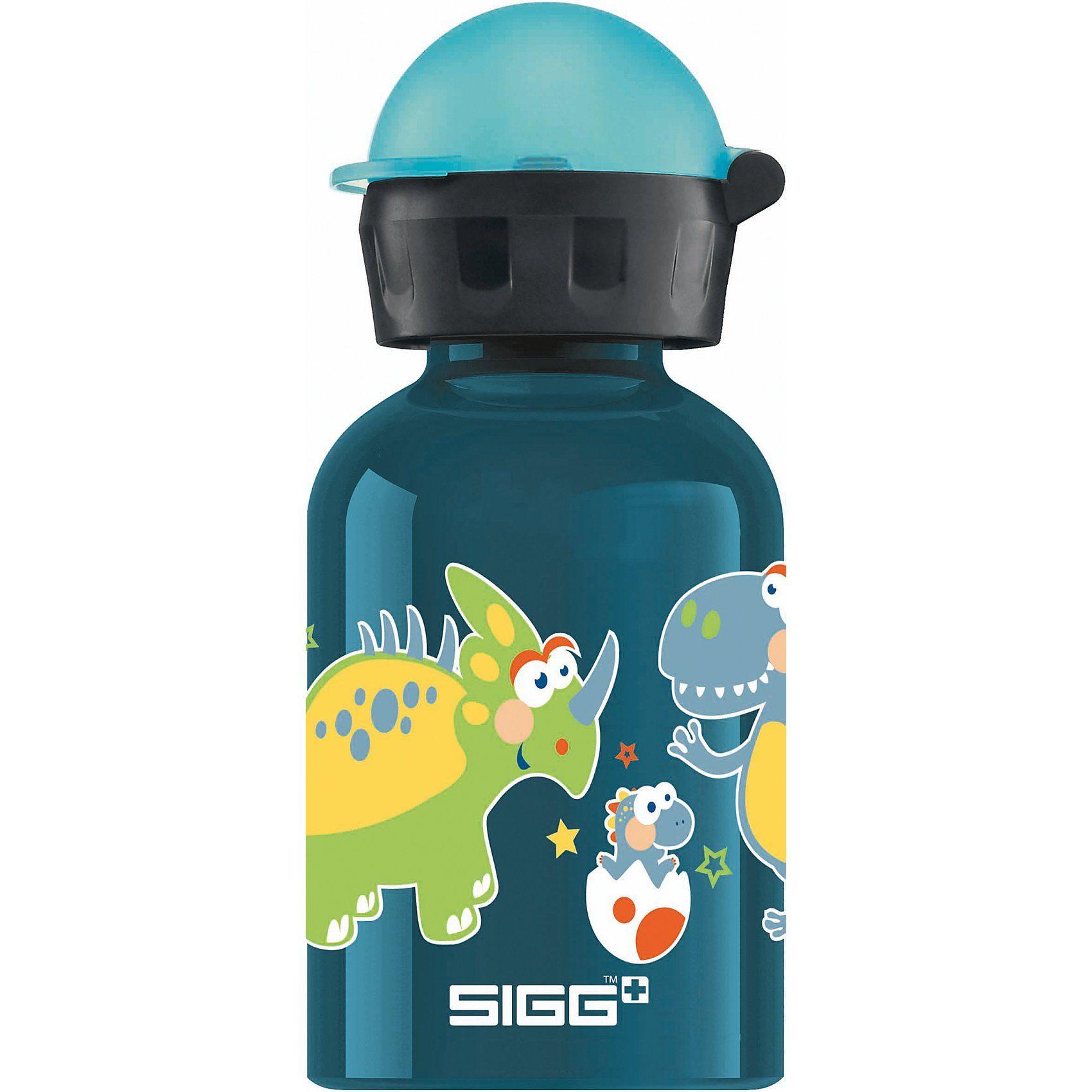 Sigg Alu-Trinkflasche Small Dino, 300 ml