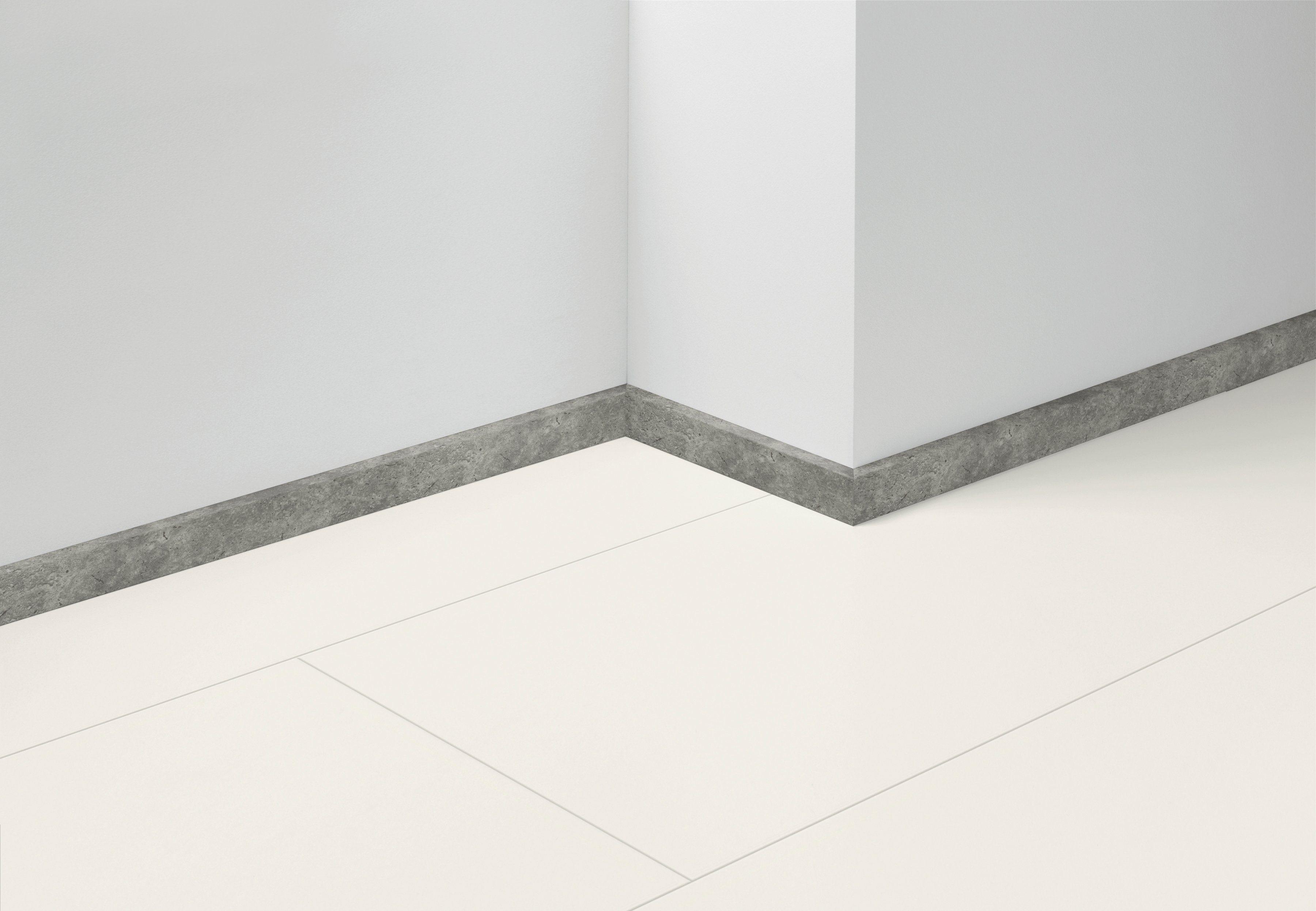 PARADOR Sockelleiste »SL 3 Zink D001«, Sockelhöhe 4 cm