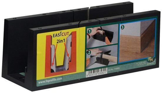 BODENMEISTER Sägestation »Gehrungslade Easy Cut«, optimiert für Bodenmeister-Leisten