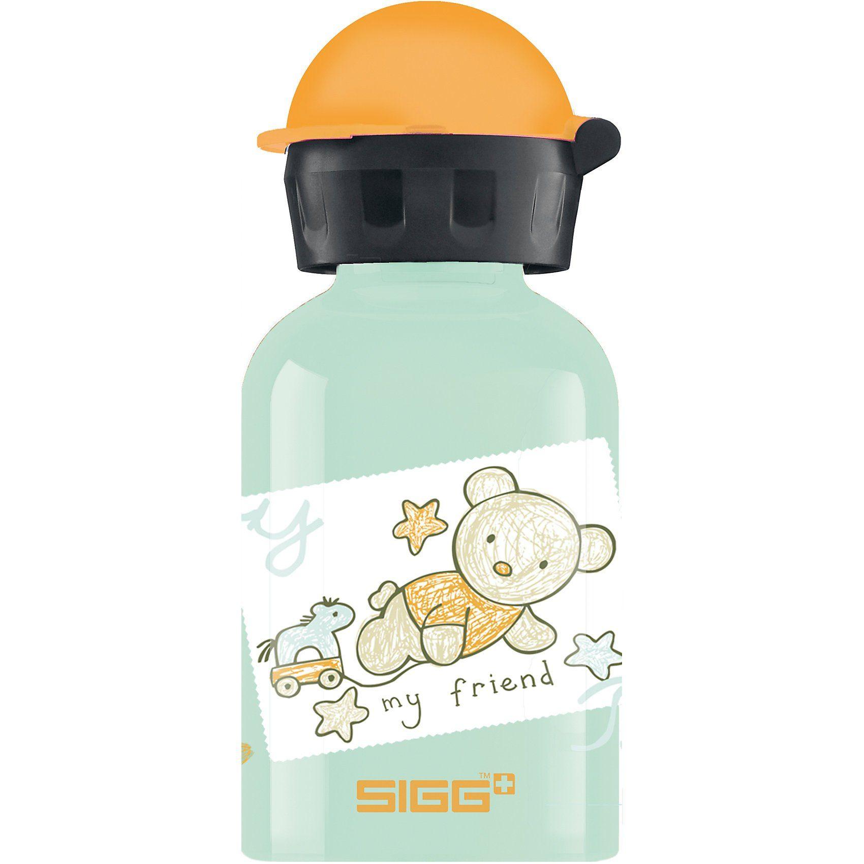Sigg Alu-Trinkflasche Bear Friend, 300 ml