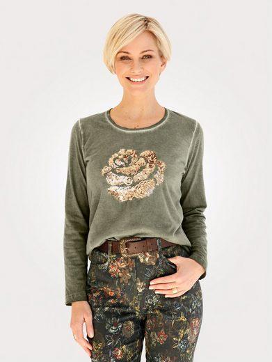 Mona Shirt aus reiner Baumwolle