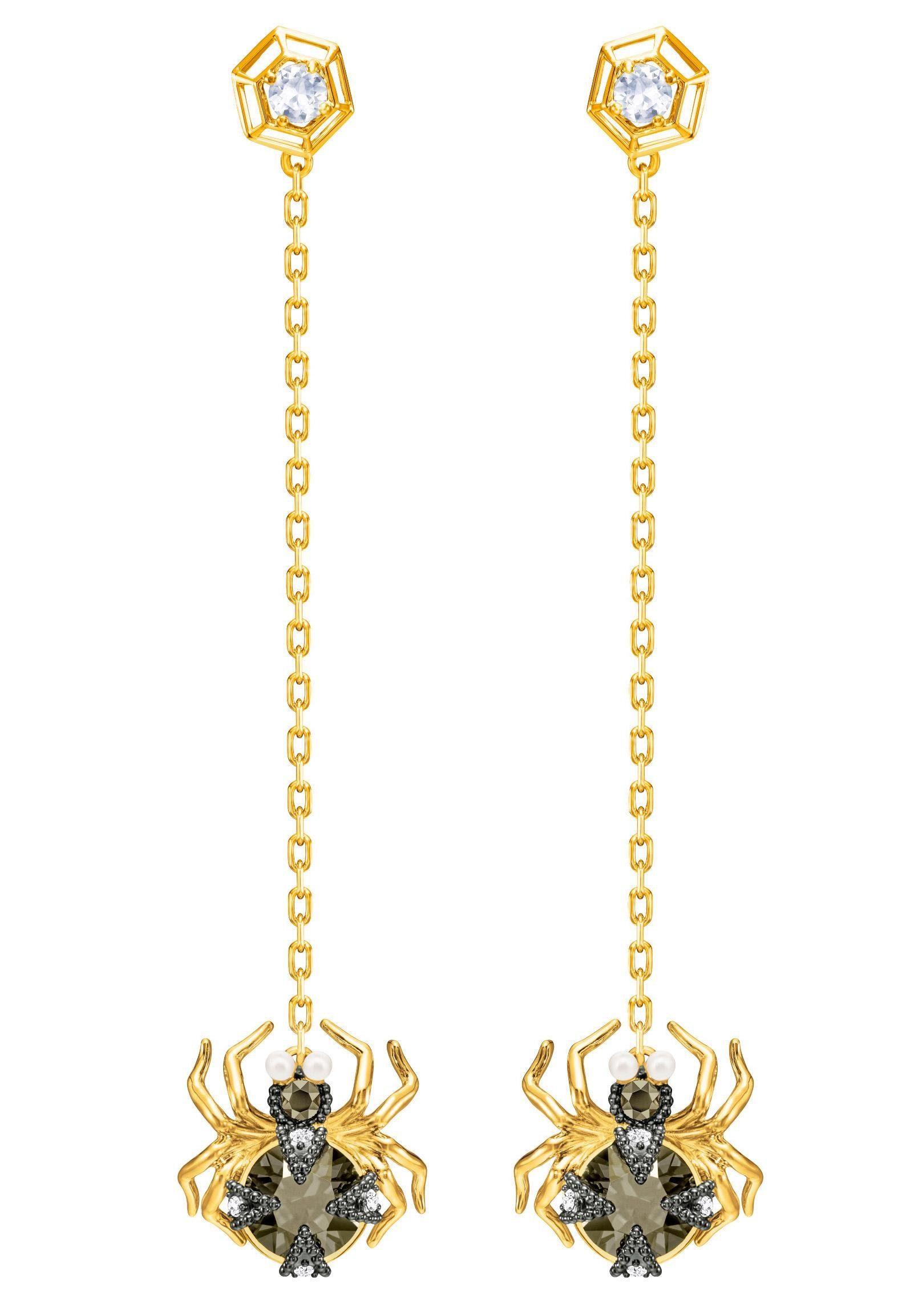 Swarovski Paar Ohrstecker »Magnetic Ohrringe, mehrfarbig, Metallmix, 5412895« mit Swarovski® Kristallen und Swarovski® Perlen