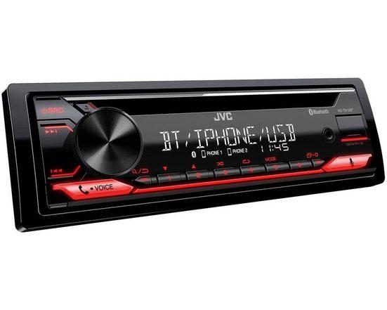 JVC Audio-System (JVC KD-T812BT, Bluetooth, Alexa, Spotify, MP3, USB, Android, CD Autoradio)