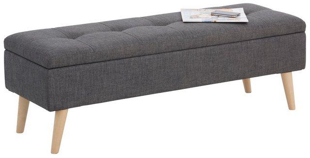 Bettbänke und Truhen - Home affaire Bank »Zena«, in fünf verschiedenen Farben, in drei verschiedenen Größen  - Onlineshop OTTO