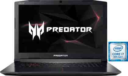 Acer Predator Helios 300 (PH317-52-74AJ) Gaming-Notebook (43,9 cm/17,3 Zoll, Intel Core i7, GeForce, 1000 GB HDD, 128 GB SSD, inkl. Office 365 Personal (ESD)
