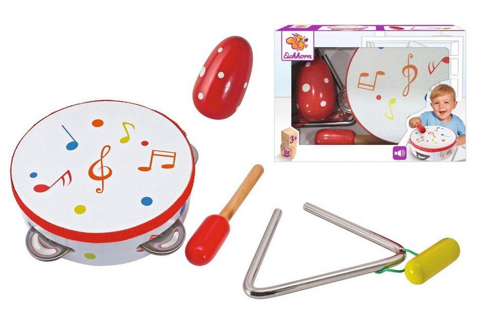 Eichhorn Kinderinstrumente,  Musik Set, 5-tlg.