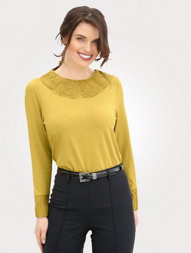 Mona Shirt mit Kordelband-Zierde