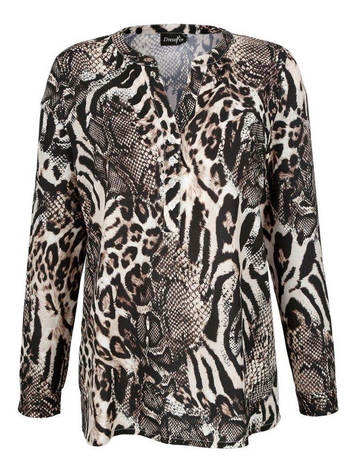 dress in bluse mit animalprint online kaufen otto. Black Bedroom Furniture Sets. Home Design Ideas
