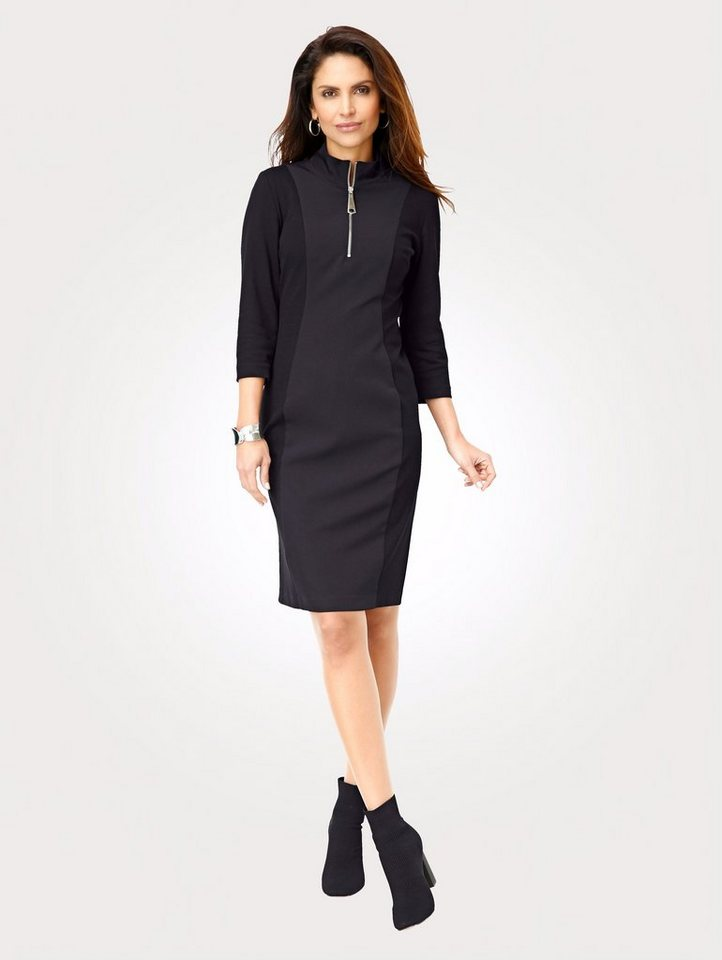 Mona Jerseykleid im Material-Mix online kaufen   OTTO ba569abf6b