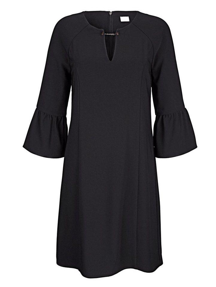 Alba Moda Kleid mit Trompetenärmel