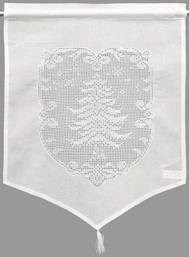 Gardine, HOSSNER - ART OF HOME DECO, Stangendurchzug (2 Stück), HxB: 45x60